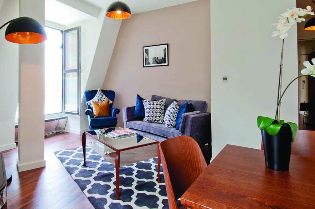 serviced apartment in monument