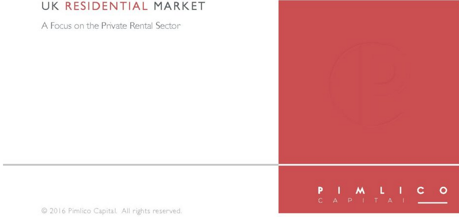 Pimlico capital article on private rental sector