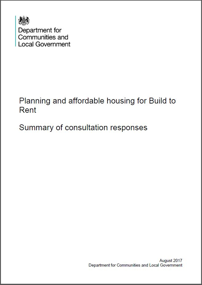 PDF on planning and affordable housing for build to rent