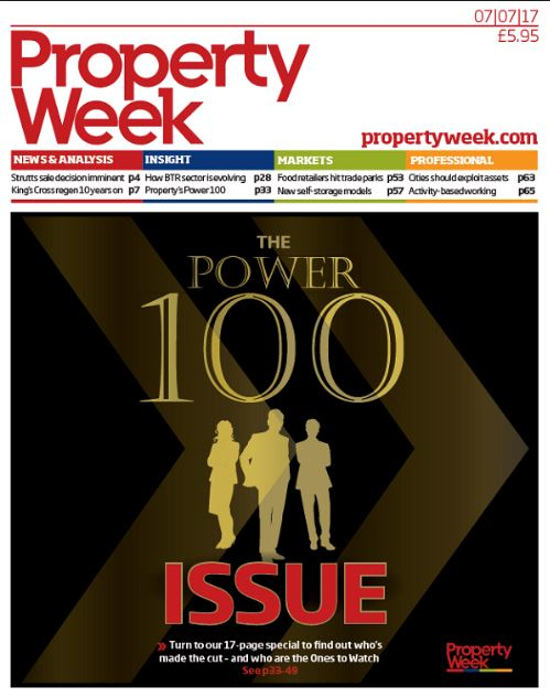 Property week The Power Issue 100 Document