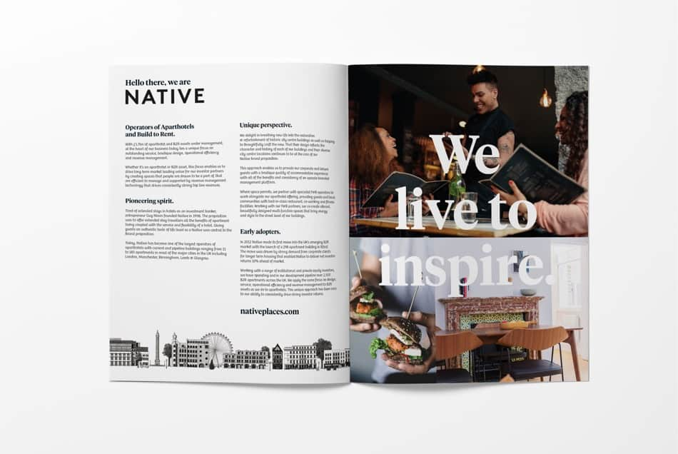 inside native brochure